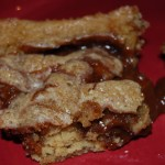 Caramel Apple Kiss Blondies