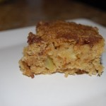Apple Spice Cookie Bars