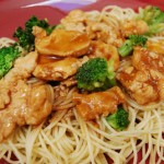 Chicken Stir-Fry Pasta