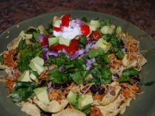 Game Day Turkey Nachos