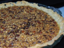 Chocolate Chip Oatmeal Pecan Pie