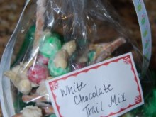 White Christmas Trail Mix