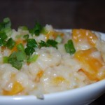 Butternut Squash and Vanilla Risotto