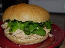 Light & Healthy Chicken Salad