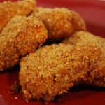 Oven-Fried Honey Chicken Nuggets