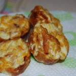Mini Ham & Cheese Frittatas