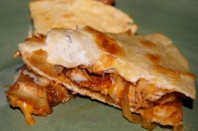 Texas BBQ Chicken Quesadillas