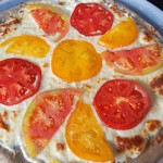 White Tomato Pizza