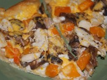 Turkey Butternut Squash Pizza
