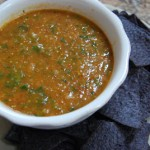 Pan-Roasted Chipotle Tomatillo Salsa