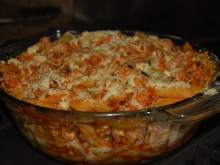 Baked Pasta with a Turkey Meat Sauce