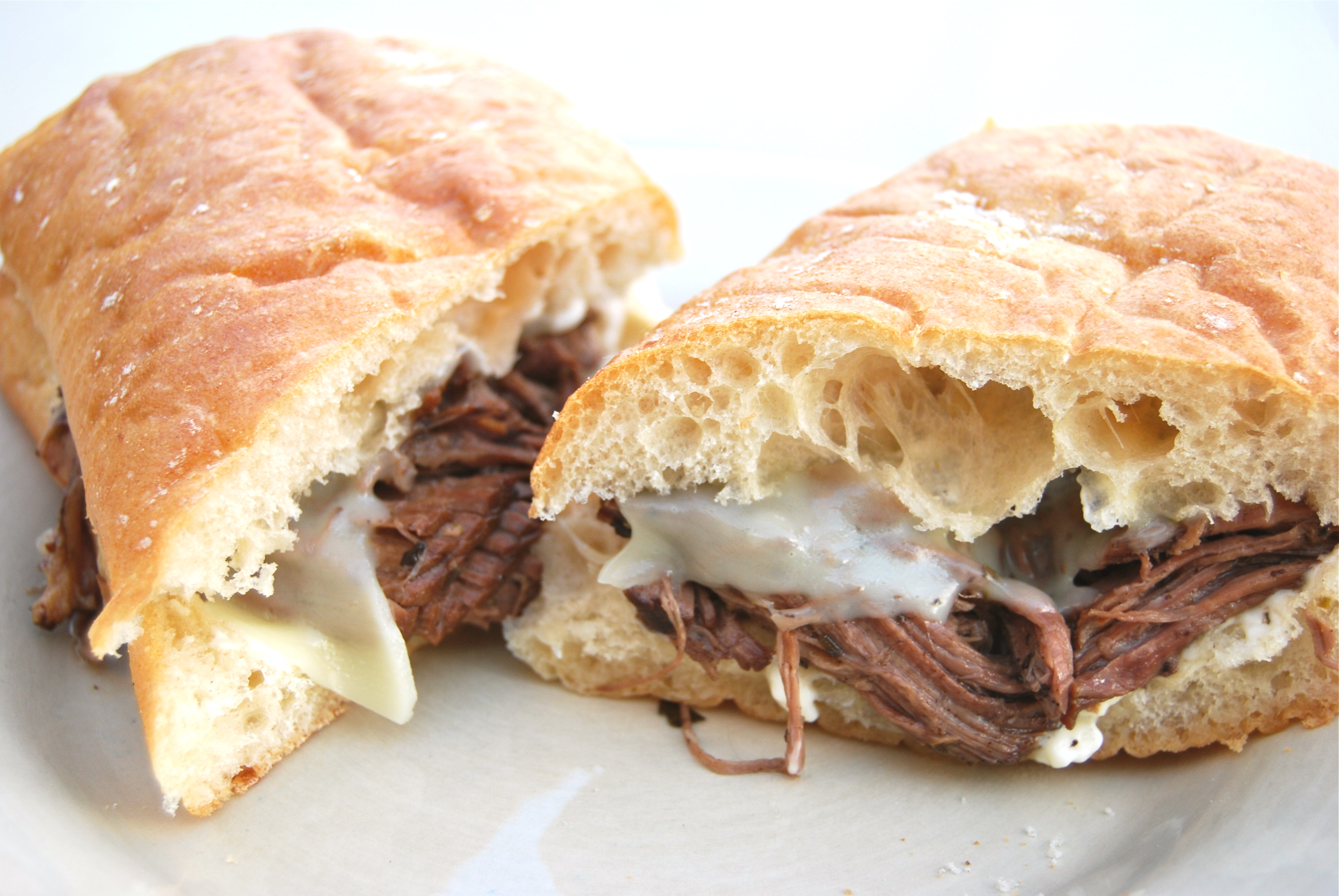 French Dip Sandwiches - Macaroni and Cheesecake