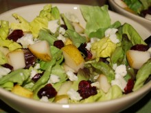 Orchard Harvest Salad with Apple Cider Vinaigrette