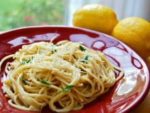 Spaghetti with Lemon & Olive Oil (al Limone)