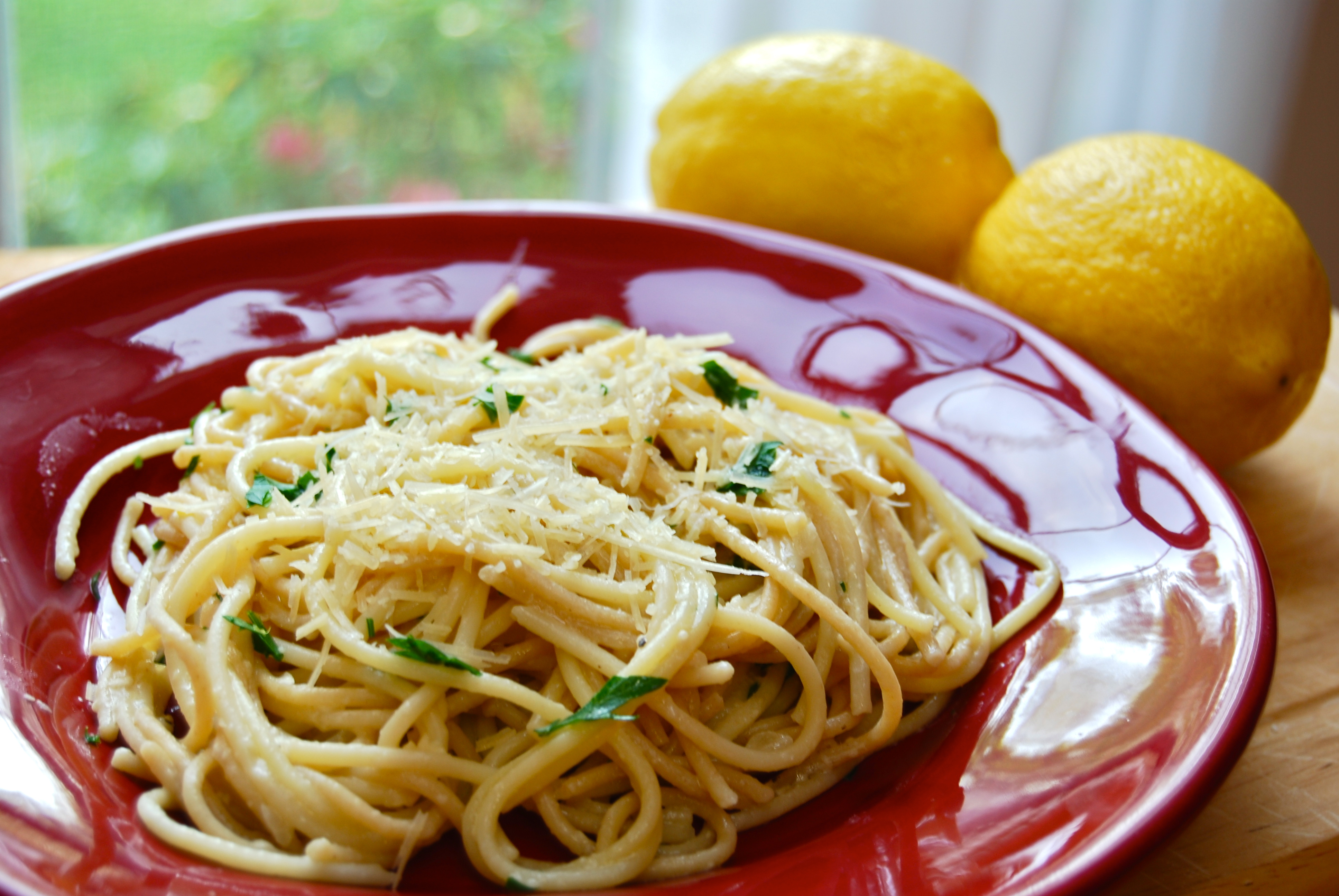 Spaghetti with Lemon and Olive Oil (al Limone)