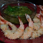 Coconut Shrimp with Pineapple Cilantro Dip