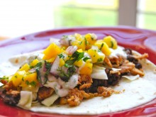 Caribbean Jerk Chicken Tacos