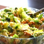 Broccoli Cauliflower Cashew Salad