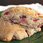 Whole Grain Strawberry Pop-Tart Scones