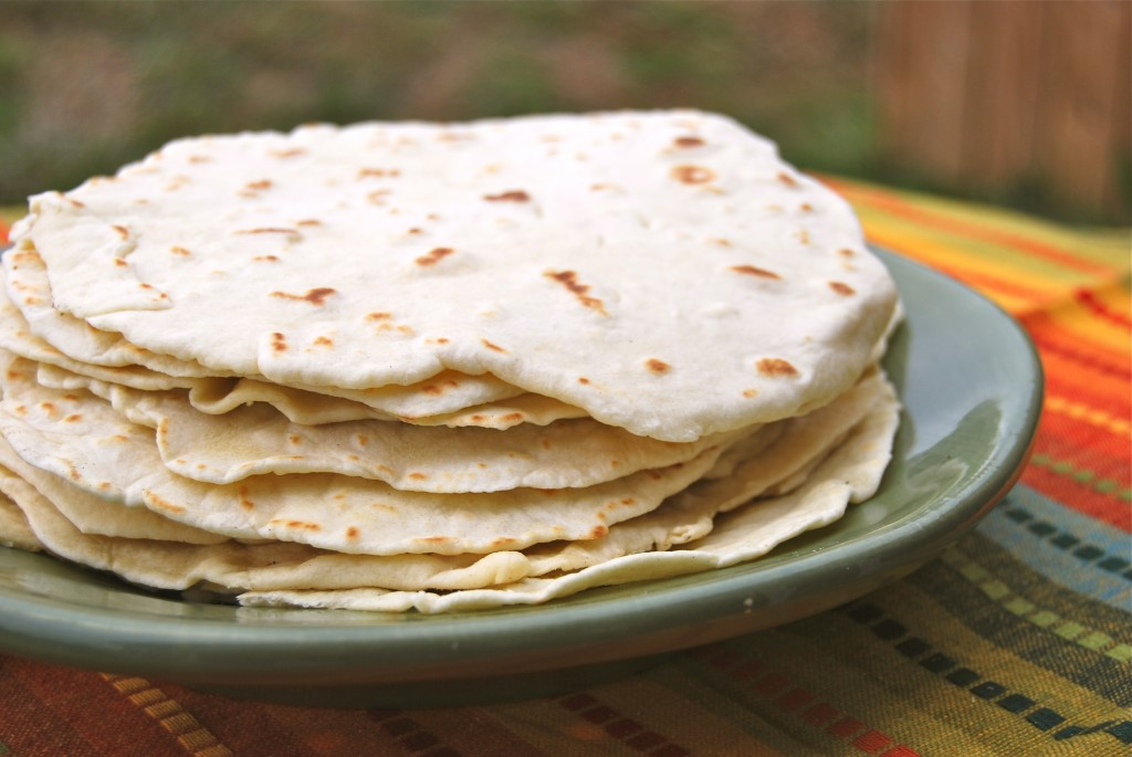 Homemade Flour Tortillas & Giveaway Winner