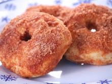 Baked Donuts with Cinnamon Sugar