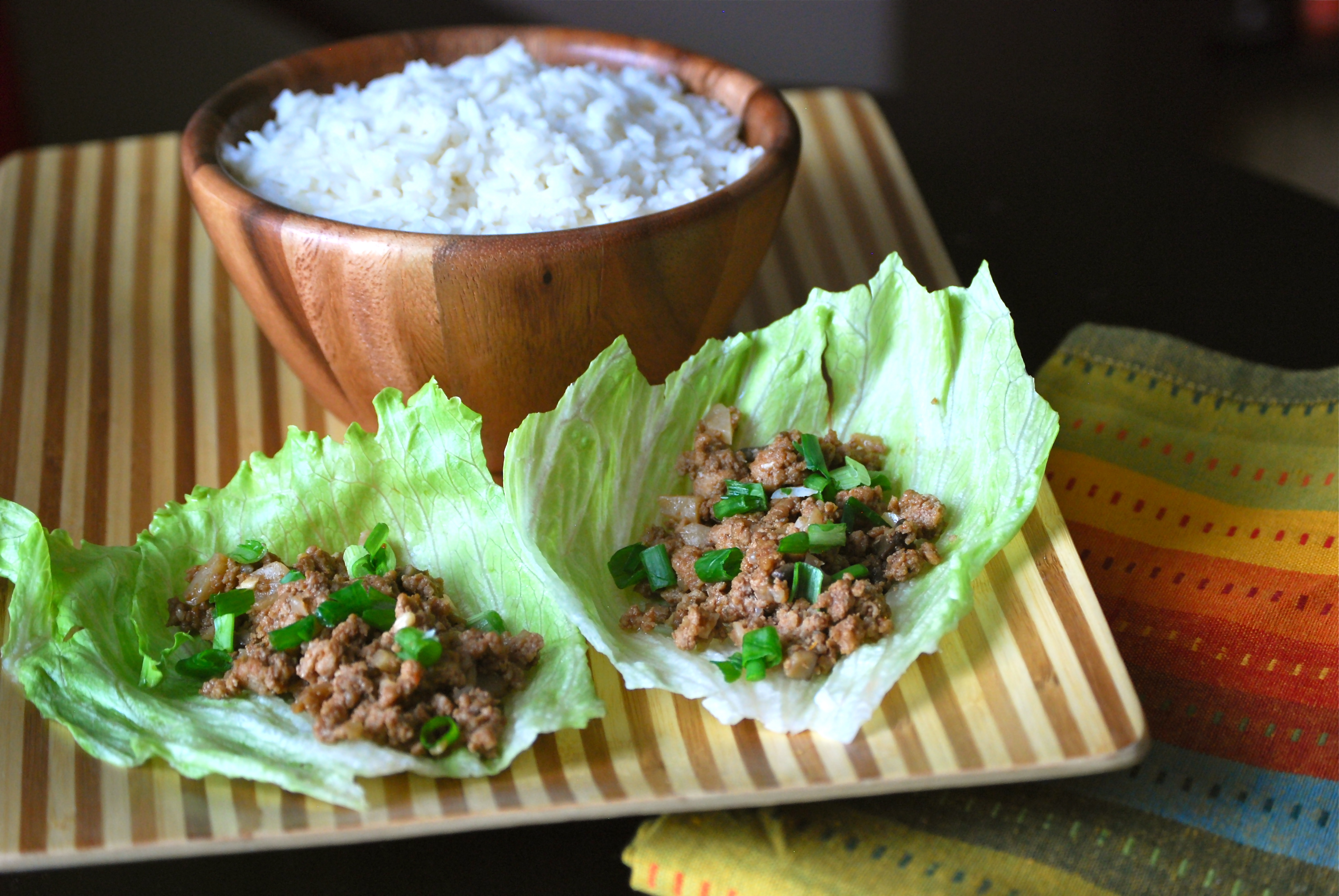 Chang's Lettuce Wraps - Macaroni and Cheesecake