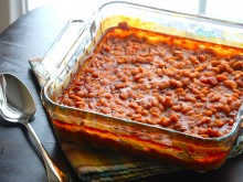 Easy Southern Style Baked Beans