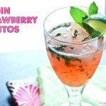 Virgin Strawberry Mojitos