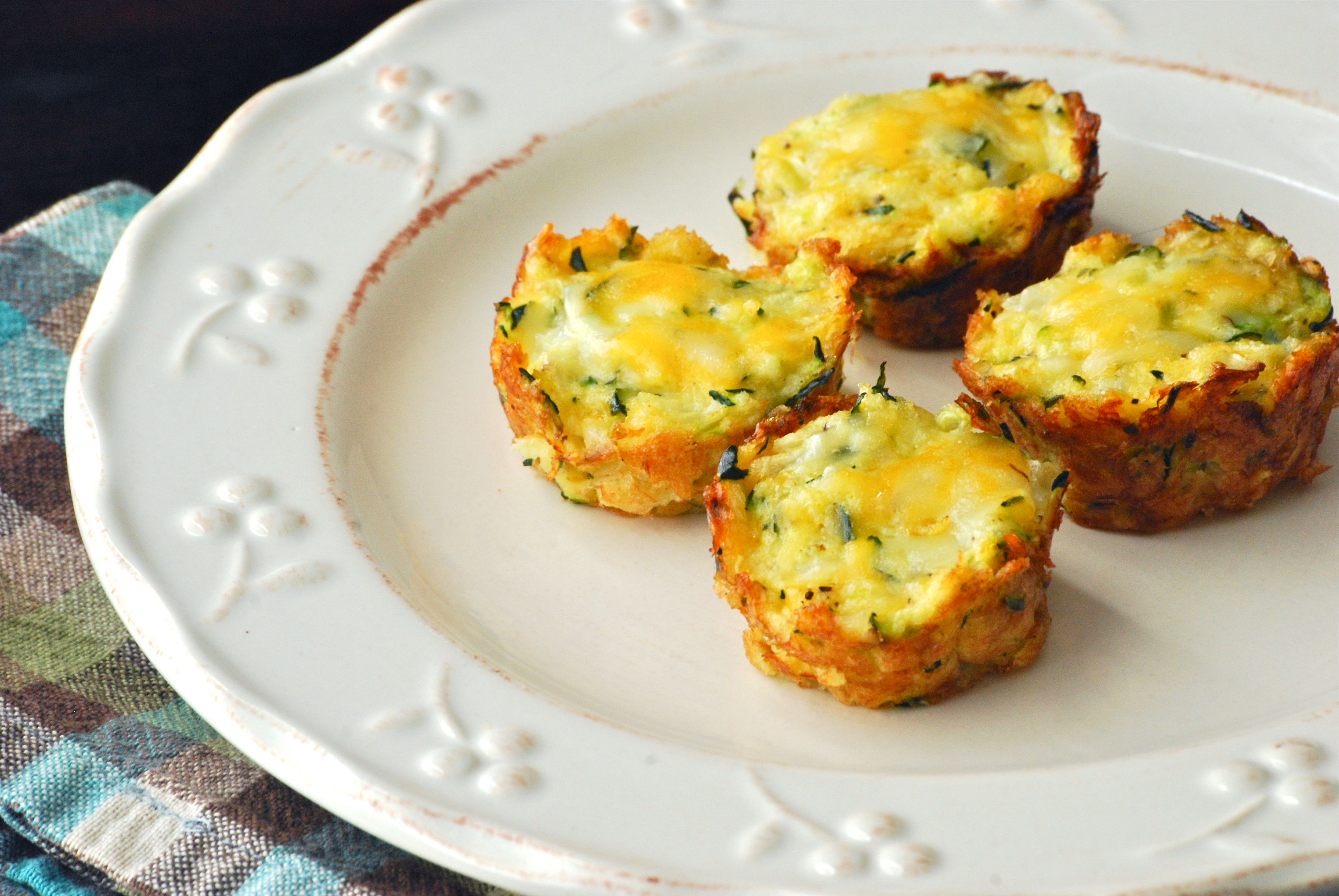 Zucchini Tots - Macaroni and Cheesecake
