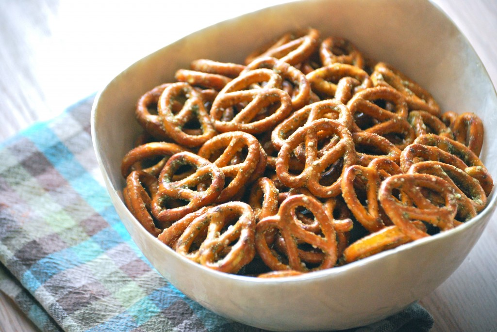 Ranch Pretzels Party Snack