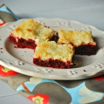 Red Velvet Gooey Bars