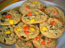 Peanut Butter Chocolate Chip Pudding Cookies