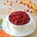 Cranberry & Pear Relish