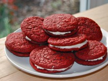 Red Velvet Whoopie Pies {Cookies & Crafts for Sandy Hook}