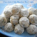 Chocolate Chip Russian Tea Cakes