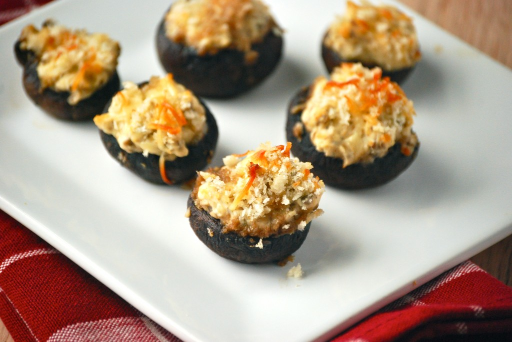Mouth Watering Stuffed Mushrooms