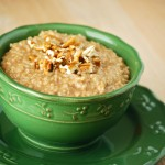 Stovetop Apple Cinnamon Steel Cut Oatmeal