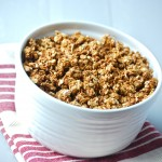 Homemade Applesauce Granola