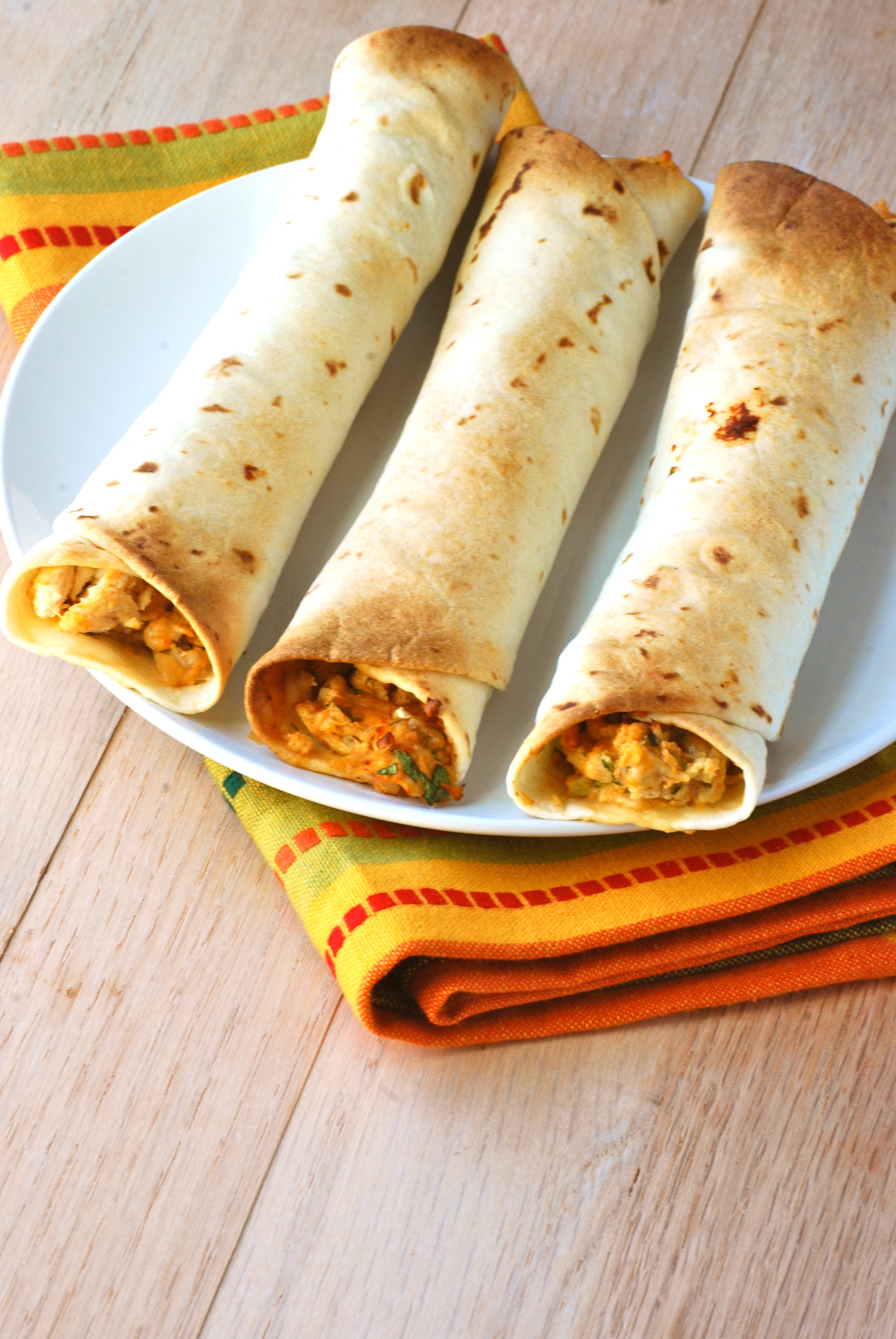 Baked Creamy Chicken Taquitos - Macaroni and Cheesecake