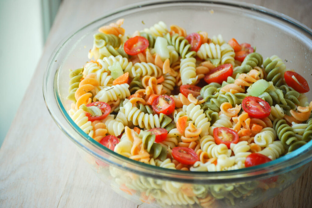 Classic Pasta Salad - Macaroni and Cheesecake