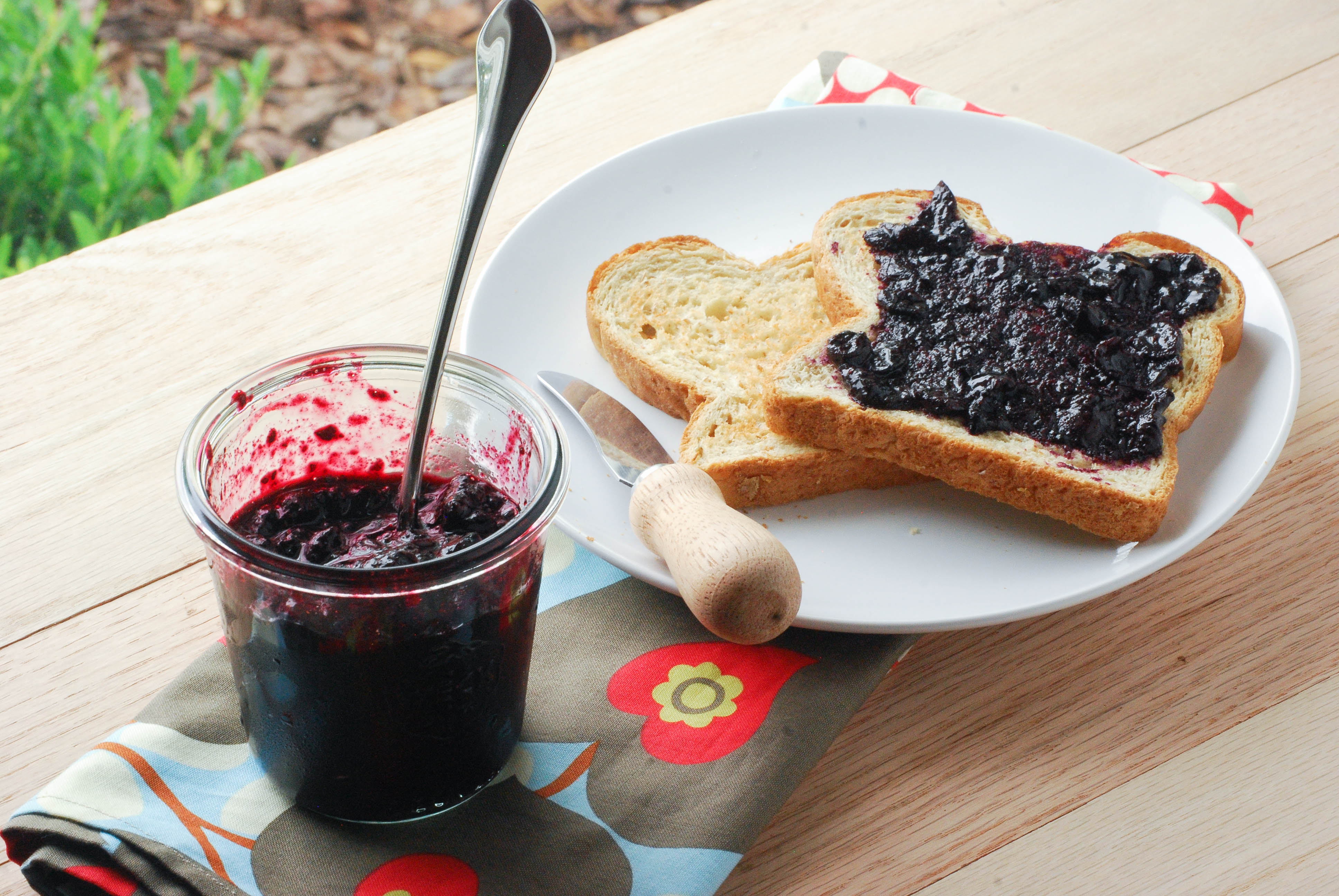 Easy Blueberry Jam: No Canning Equipment Required ...