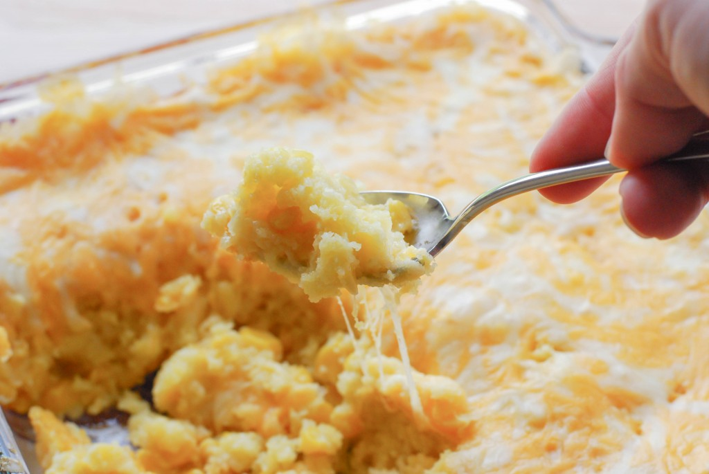 Cheesy Corn Casserole (5 of 5)