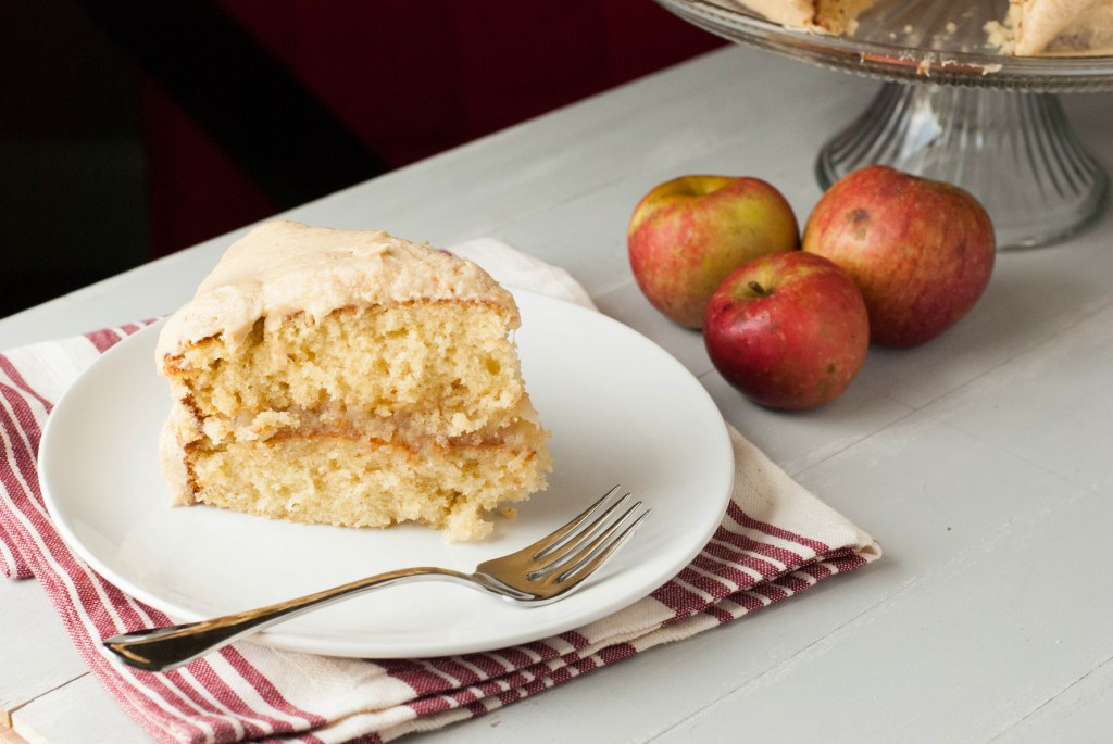 Caramel Apple Layer Cake
