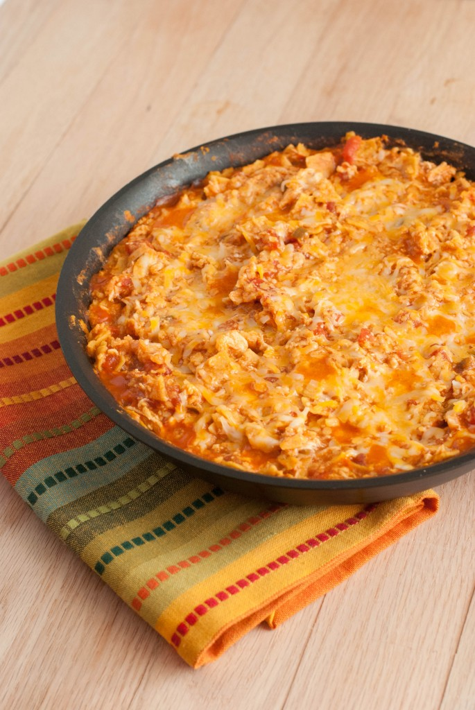 Chicken Enchilada Skillet (1 of 3)