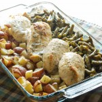 One Dish Chicken & Veggie Bake