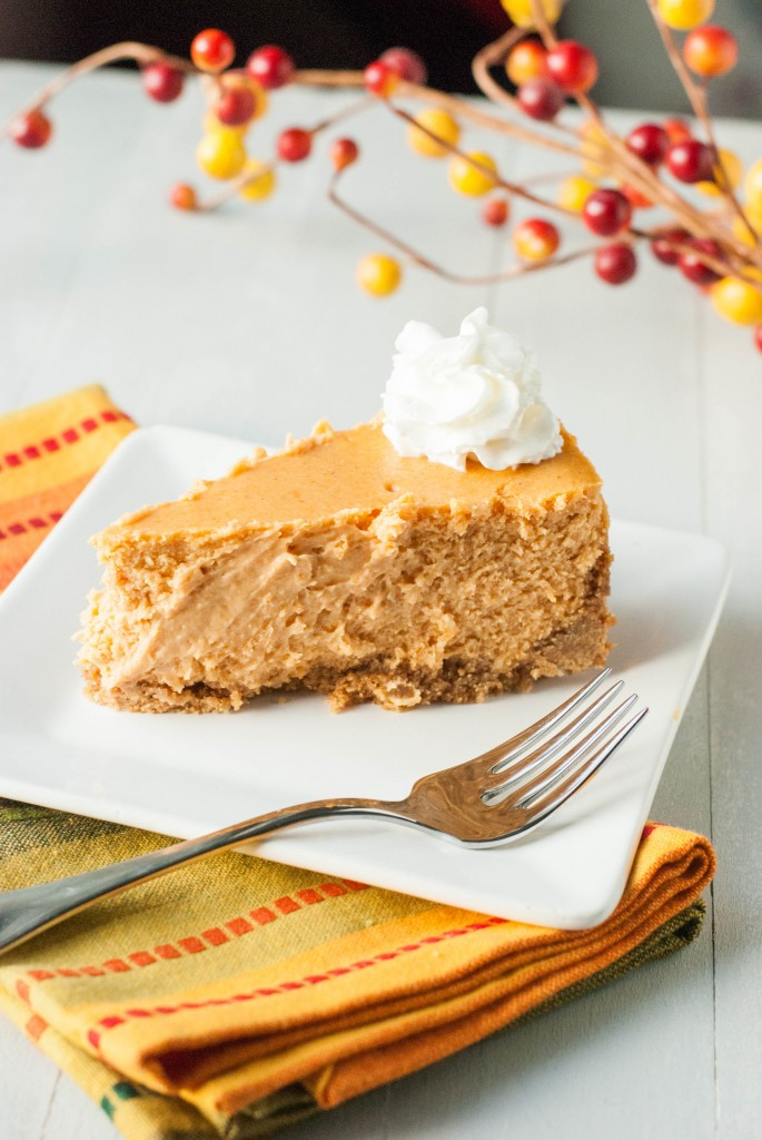 Pure Pumpkin Cheesecake Recipe — Dishmaps