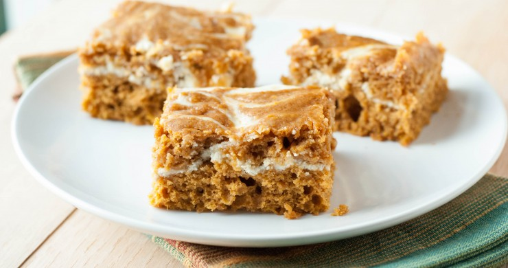 Pumpkin Roll Bars