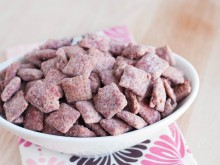 Red Velvet Chex Mix