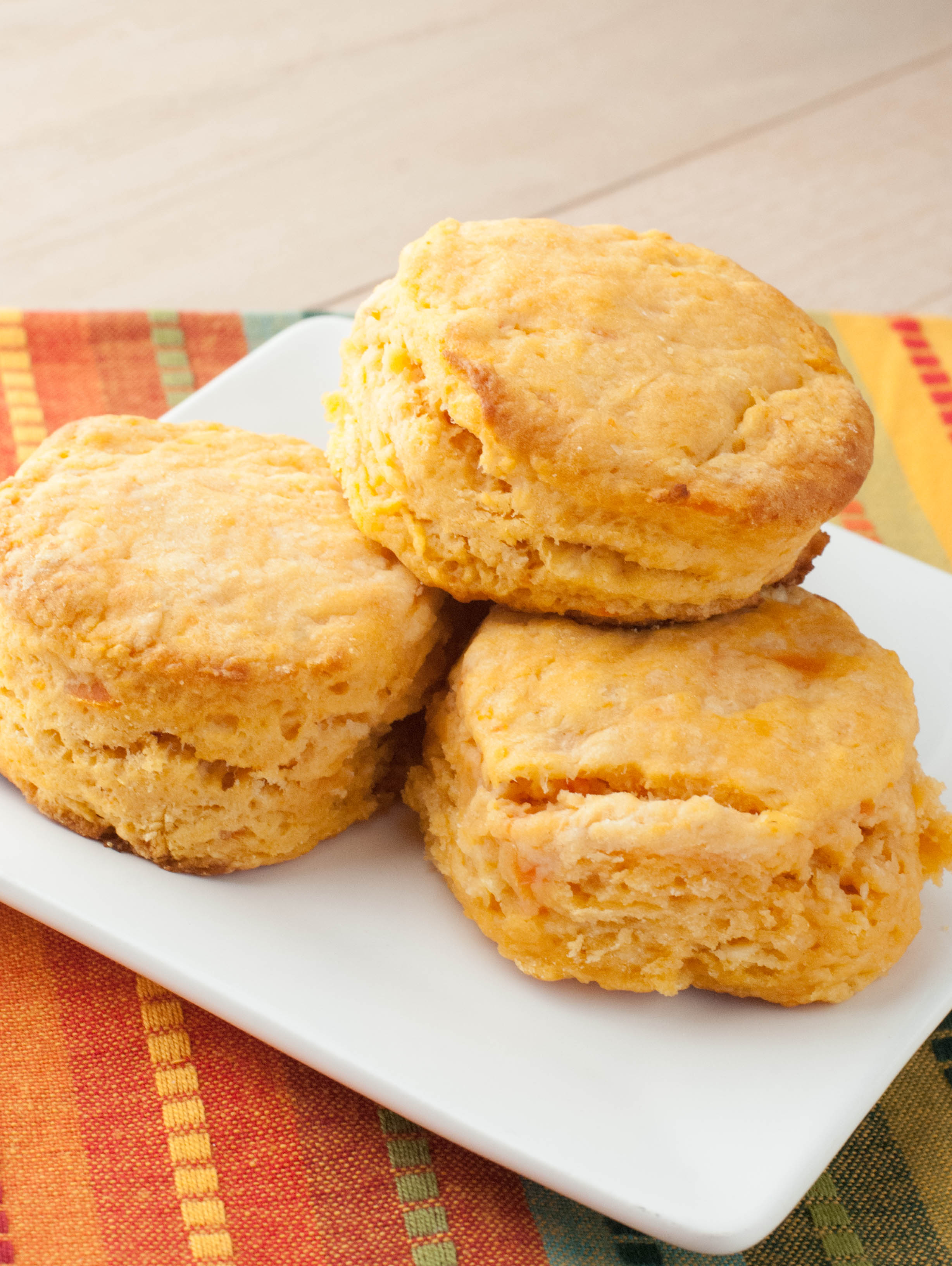 Sweet Potato Biscuits - Macaroni and Cheesecake