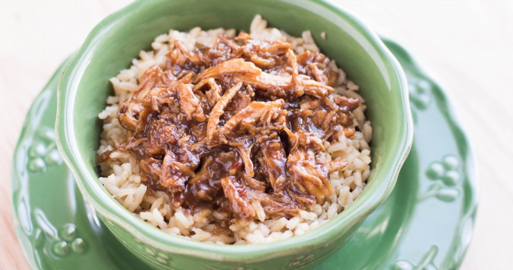 Crock Pot Sweet & Sticky Chicken